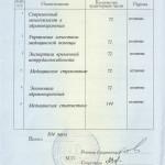 Приложение к диплому по ОЗ ч2
